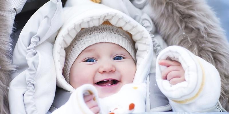 бебе през зимата