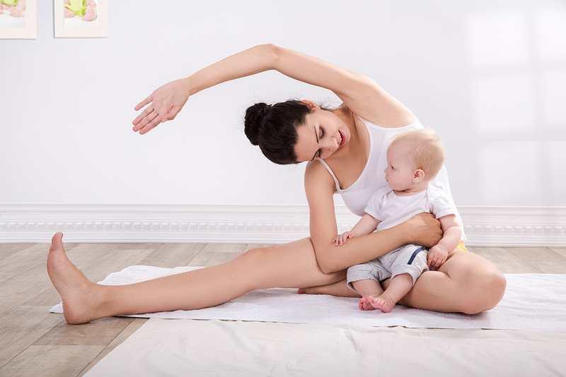 бебета фитнес за мама след раждане